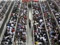 Очередь в пекинском метро