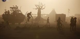 Фестиваль Burning Man в пустыне Невады