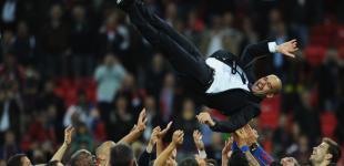 «Барселона» торжествует
