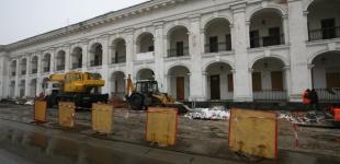 Реконструкция Гостинного двора