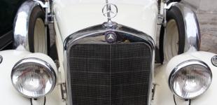 Выставка ретро-автомобилей во Львове