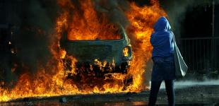 Массовые беспорядки в Северной Ирландии