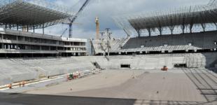 Строительство стадиона во Львове