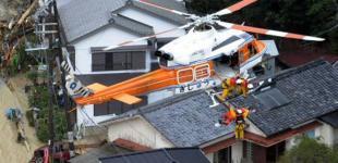 Тайфун «Талас» в Японии