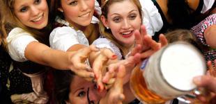 В Мюнхене проходит пивной «Октоберфест»