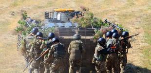 Оперативно-тактические учения спецназа ВМС Украины