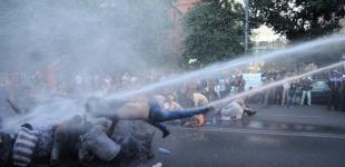 Массовые протесты в Армении