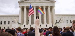 Однополые браки легализованы в США