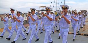 День ВМС в Одессе. Торжественная часть