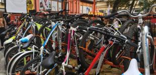 В Киеве открылся первый велохаб