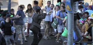 Нападение на гей-парад в Иерусалиме