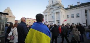 Нет баз - нет войны! Демонстрация в Минске.