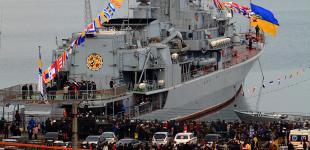 День Збройных Сил Украины в одесском порту