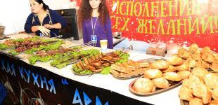 Предновогодний гастрономический фестиваль в Одессе