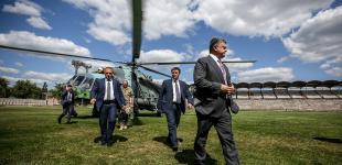 10 лучших снимков года от фотографа украинского президента