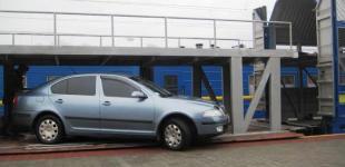 Из Одессы начали перевозить легковые автомобили на поезде