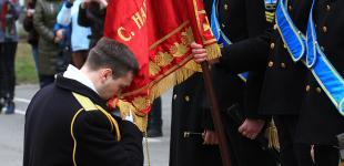 Курсанты-нахимовцы, вышедшие в марте 2014 года из Крыма, получили лейтенантские погоны