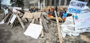 В Клайпеде тренировались душить «народную республику»