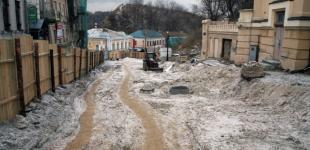 Руины Андреевского спуска