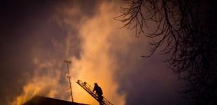 В Киеве горел «Большевик»