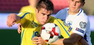 Футбол: Финляндия - Украина - 1:2