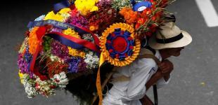 Цветочный фестиваль в Колумбии