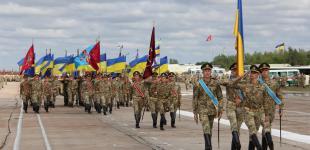 Подготовка  к военному параду в Киеве на День Независимости