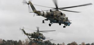 Хмара вертольотів над Львівщиною