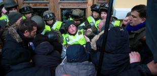 «Марш за імпічмент» під проводом Саакашвілі у Києві. Хронологія дня
