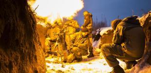 Українські військові відбили атаку поблизу Світлодарської дуги
