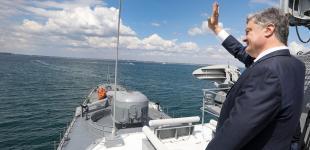 Петро Порошенко відвідав міжнародні навчання «Сі Бриз – 2018»: офіційний репортаж