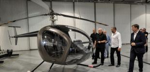 Сучасні українські гелікоптери: Турчинов відвідав виробництво