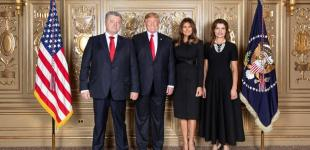 Петро Порошенко на Генасамблеї ООН: костюмчик, як у Трампа. Чи то у Трампа, як у нашого?