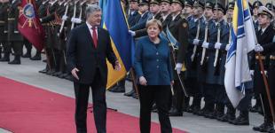 Канцлер Німеччини Анґела Меркель відвідала Україну