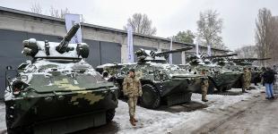 Передача військової техніки та зброї військовим на «Київському бронетанковому заводі»