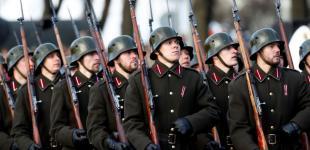 Військовий парад на честь 100-річчя Латвії