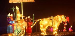 Фестиваль китайских фонарей на Певческом поле: выставка из Поднебесной объехала 40 стран мира