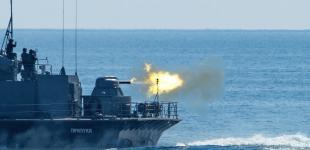 Ракетний катер «Прилуки» взяв участь у спільних тренуваннях з фрегатом НАТО «Торонто»