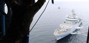 Ракетний катер «Прилуки» та британський корабель гідрографічної розвідки провели спільні навчання