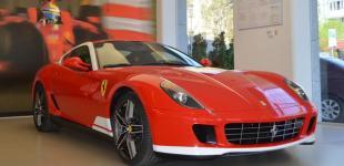Единственный в Украине Ferrari 599 GTB 60F1 Alonso edition