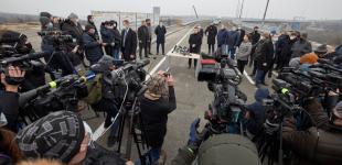 Робоча поїздка Президента України до Запорізької області. Офіційний репортаж