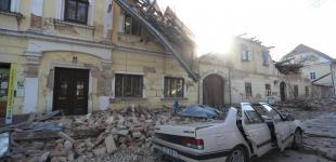 Последствия необычно сильного землетрясения в Хорватии
