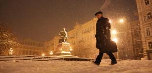 Сніжна зима у Києві