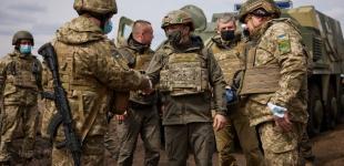 Президент Зеленський приїхав на Донбас