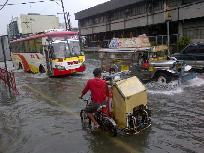 the great flood of metro manila