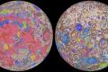 Ученые впервые создали геологическую карту Луны
