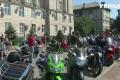 Байкеры устроили громкий протест под Черкасской ОГА