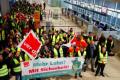 Забастовка в аэропортах Германии: сотни тысяч людей застряли в аэропортах