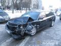 В Харькове грабители во время побега с барсеткой денег попали в ДТП
