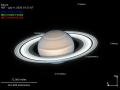 Hubble показал Сатурн в летнее время